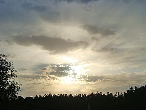 небесное окно