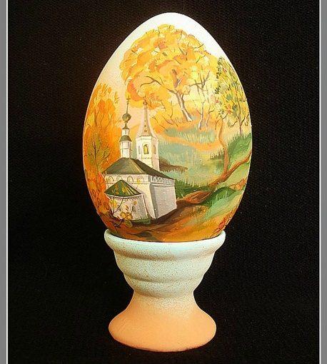 """Яйца """"Времена года""""."""