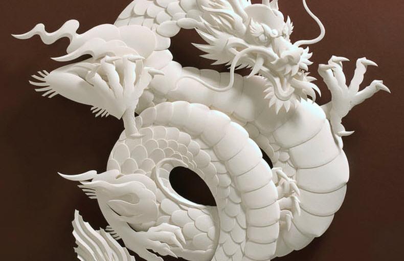 Бумажные скульптуры от Jeff Nishinaka