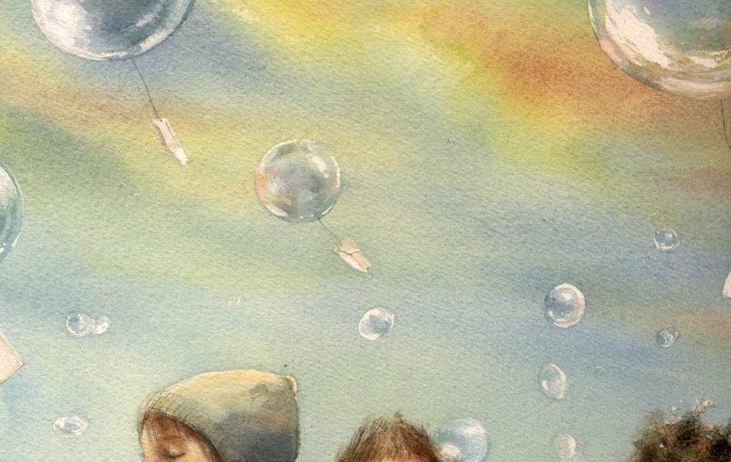 Светлая грусть в акварелях Marina Marcolin