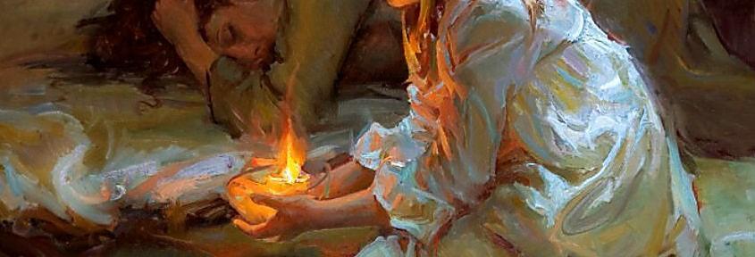 Девочки в венках от Daniel F.Gerhartz