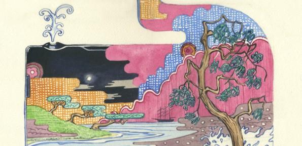 Два в одном: животные и пейзажи в работах Daniel Mackie