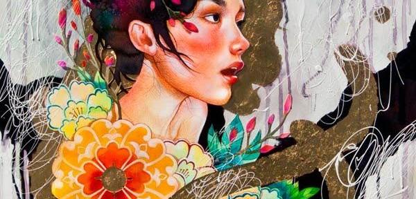 Девушки-лисы и прекрасные гейши от Juuri