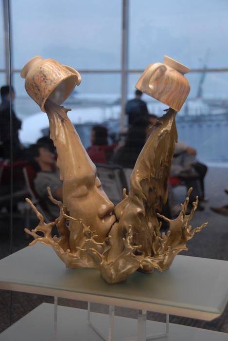 Все смешалось! Необычные скульптуры от Джонсона Тсанга