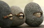 А у нас в Рязани камни с...зубами! Своеобразные скульптуры Хиротоши Итох