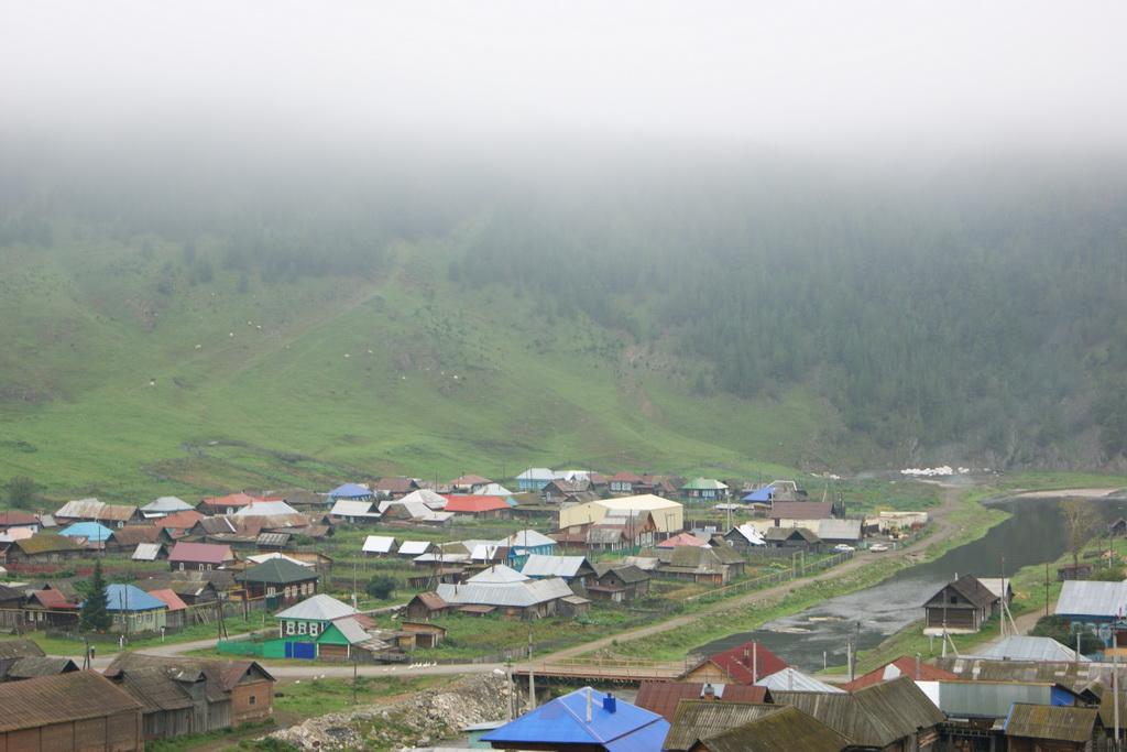 Утренний туман над Кагой