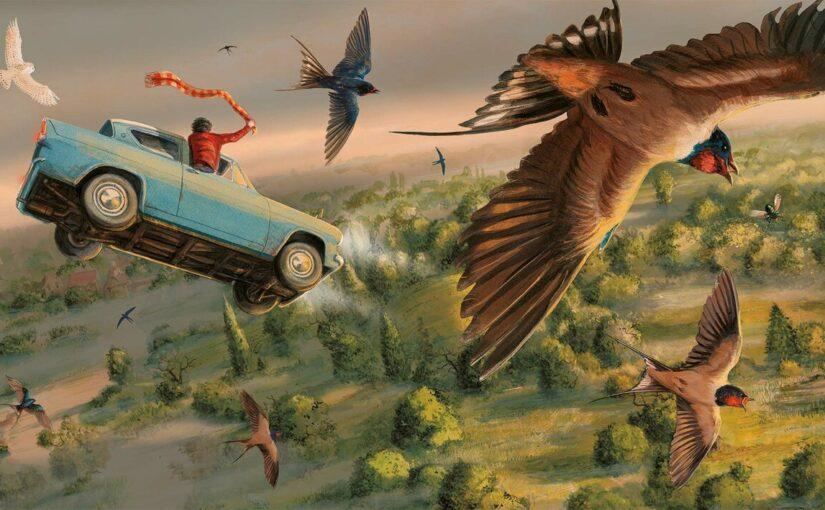 Гарри Поттер, которого мы заслужили: по-настоящему сказочные иллюстрации Джима Кея