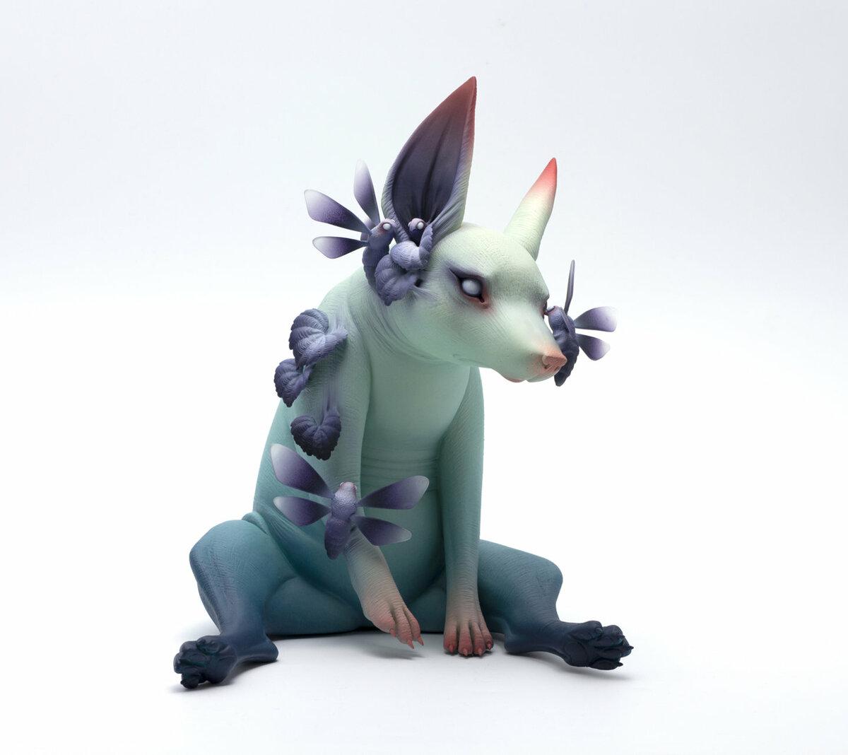 Странные создания из керамики от Эрики Санада. Жуткие и прекрасные.