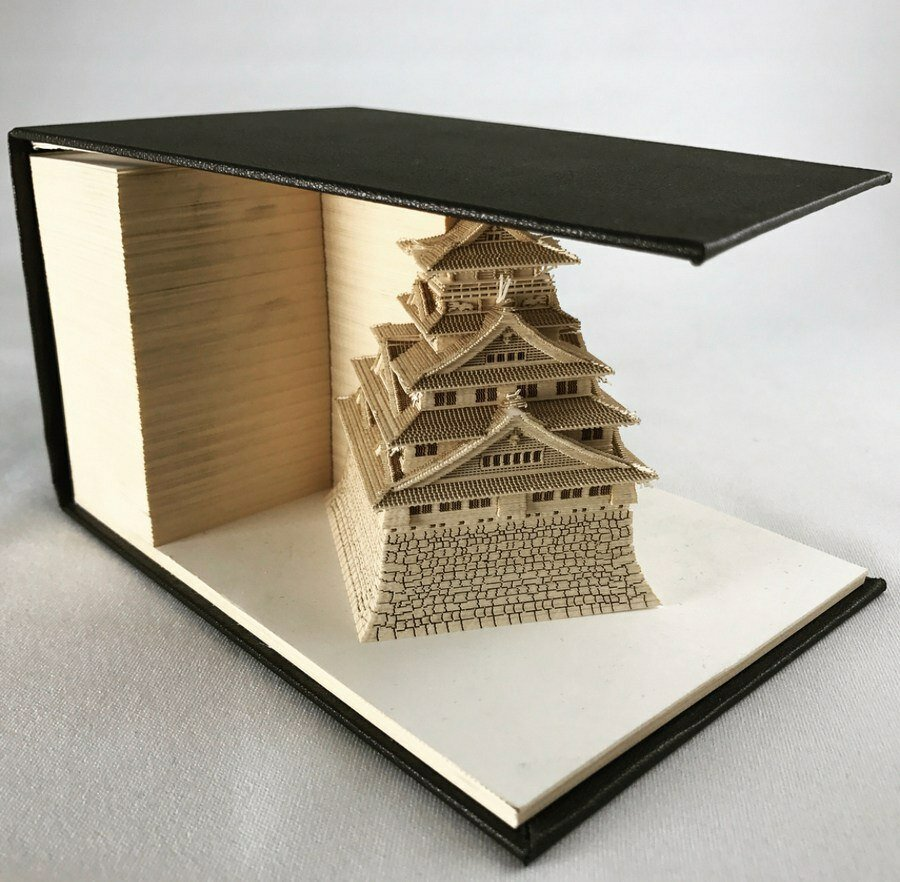 Удивительные блокноты из серии OMOSHIROI BLOCK. Они превращаются в бумажные миниатюры! 😲