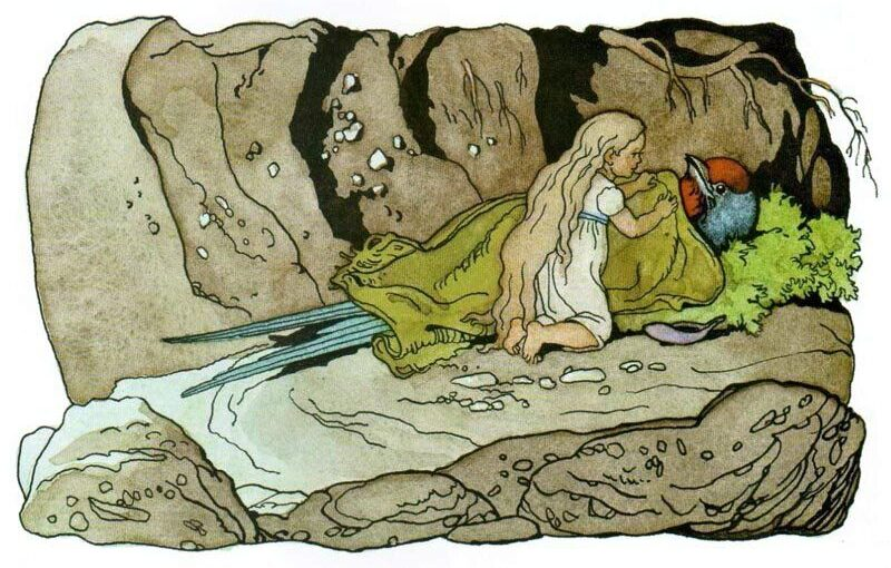 Живые иллюстрации с историей от Дехтерева Бориса