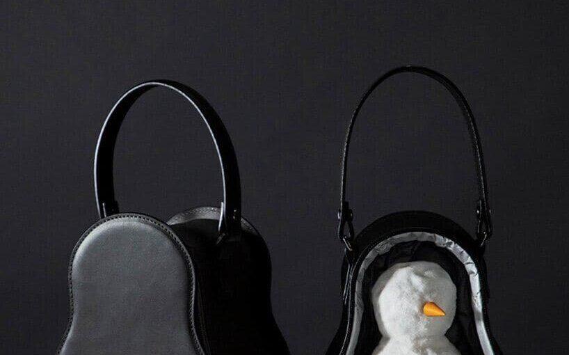 Всё своё ношу с собой: необычная сумка для… снеговика! 😲