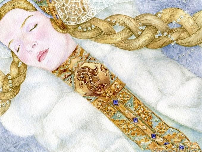 Спящие красавицы Маши Курбатовой