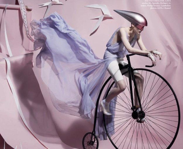 Бумажные истории в Британском Vogue
