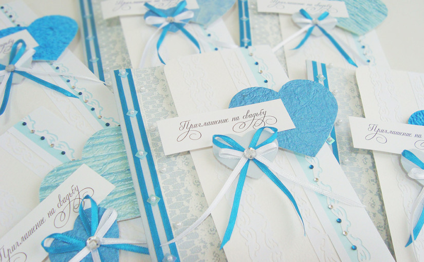 Приглашения на свадьбу своими руками
