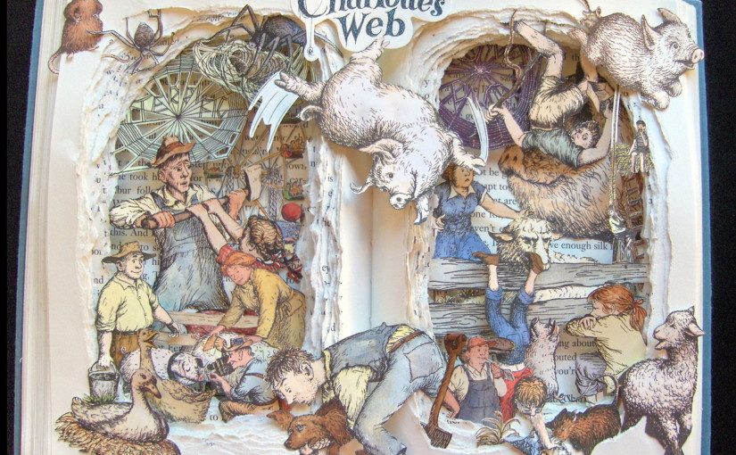 Необычный взгляд на старые книги от Келли Кэмпбелл Берри