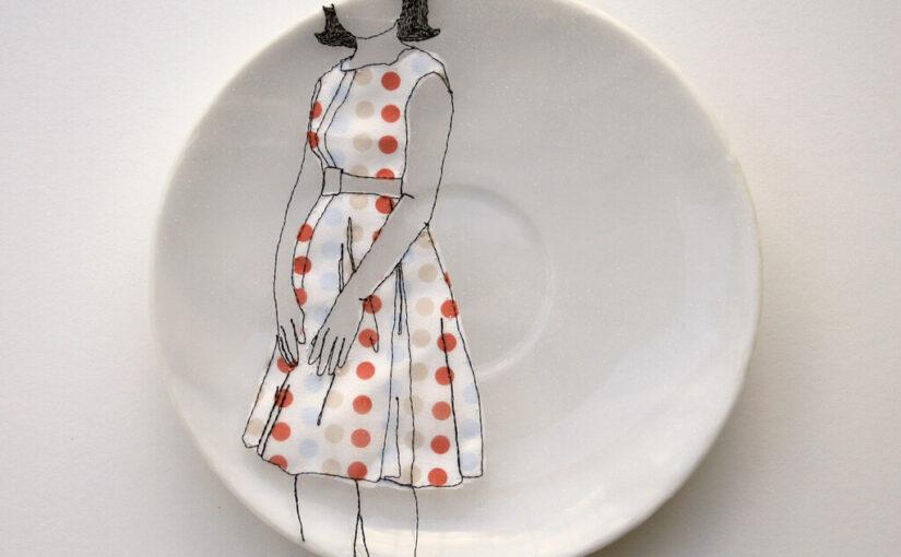 Фарфоровая вышивка Дьем Чау: обман зрения или уникальный стиль?